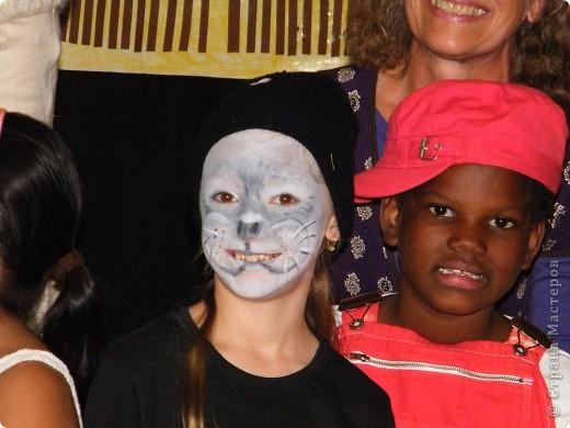 Детский боди-арт и выступление дочкиной театральной группы фото 16