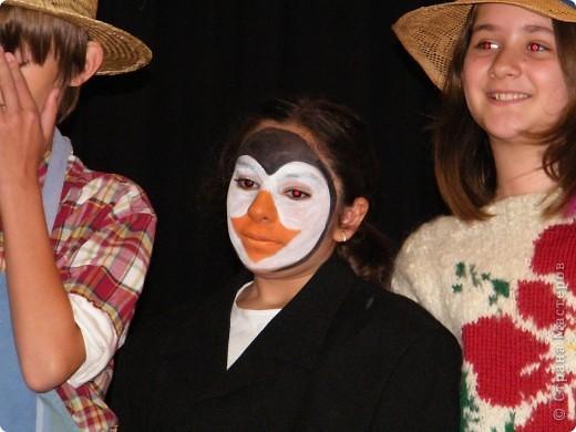 Детский боди-арт и выступление дочкиной театральной группы фото 14