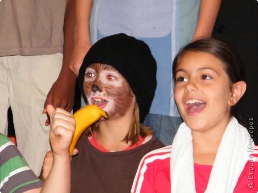 Детский боди-арт и выступление дочкиной театральной группы фото 19