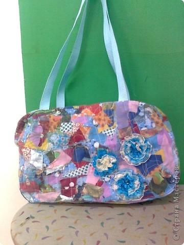 сумки из лоскутков фото 7