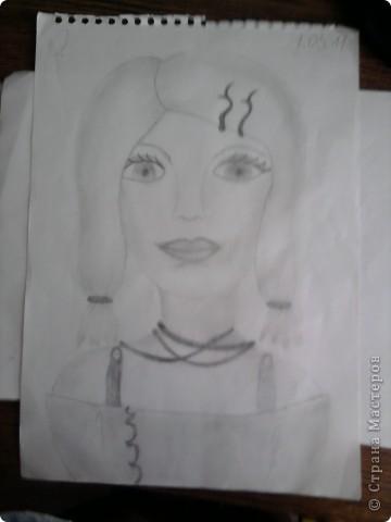 Нашла рисунки 4-летней давности (мне было 12 лет) и решила показать вам... Надеюсь негативной критики не будет, всё-таки почти детские рисунки)  Это роза... фото 3