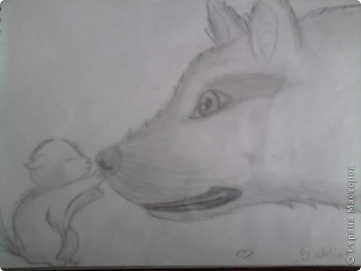 Нашла рисунки 4-летней давности (мне было 12 лет) и решила показать вам... Надеюсь негативной критики не будет, всё-таки почти детские рисунки)  Это роза... фото 4