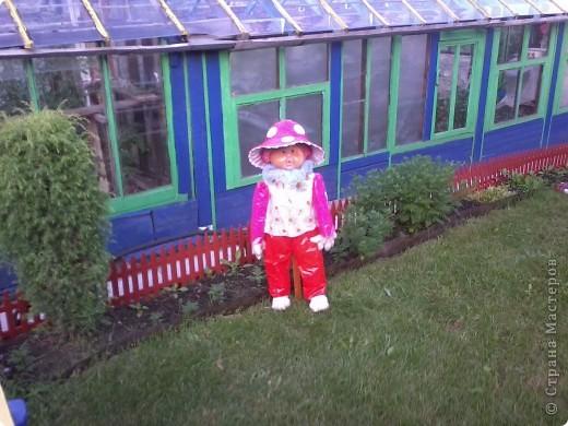 ну вот и выехала наша дама в огород,ростиком она 180. фото 4