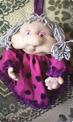кукла попик. Кукла на удачу фото 1