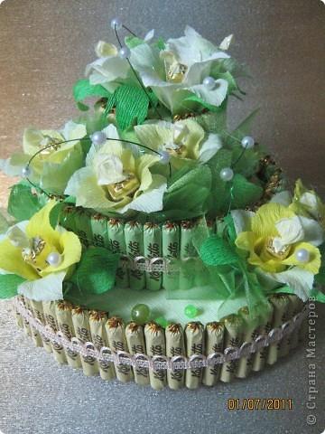 Вот мой первый тортик. фото 2