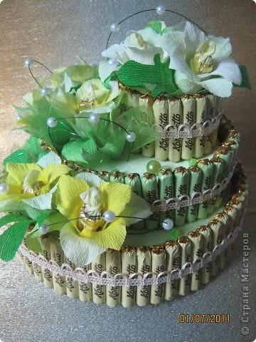 Вот мой первый тортик. фото 1