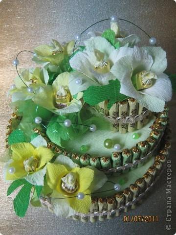 Вот мой первый тортик. фото 3