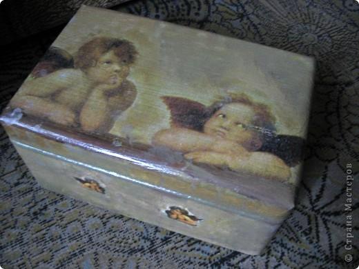 Ангелы Рафаэля, или декупаж дубль 3 фото 2