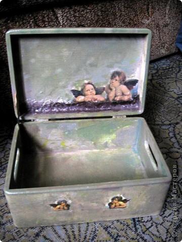 Ангелы Рафаэля, или декупаж дубль 3 фото 4