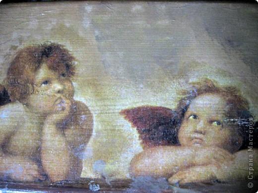 Ангелы Рафаэля, или декупаж дубль 3 фото 1