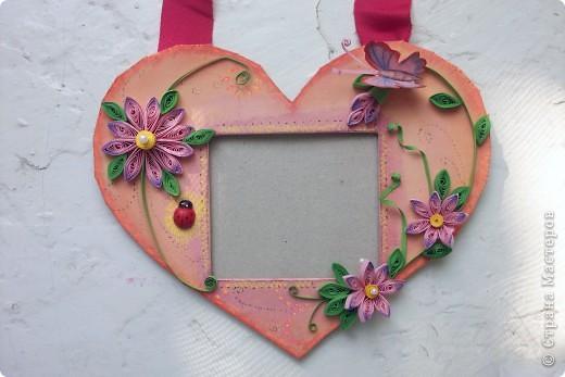 Рамочка Сердце фото 5