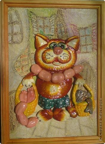 Вот такой получился у меня котик. Спасибо Марине Архиповой за её МК http://stranamasterov.ru/node/86529 фото 1