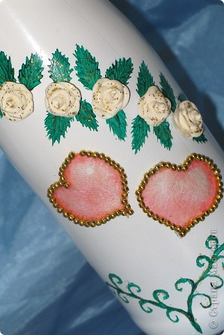 Бутылочки свадебные фото 5