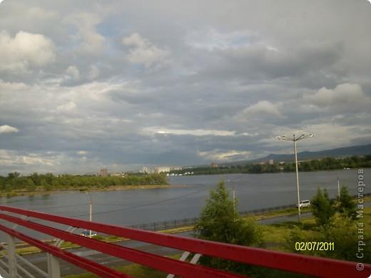 доброго времени суток тем, кто заглянул на мою страничку! прогуляемся? хочу познакомить вас с замечательным местом в г. Красноярске - набережной и вантовым мостом через р. Енисей. фото 6