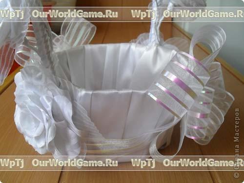 Мастер класс свадебная корзинка своими руками. фото 14