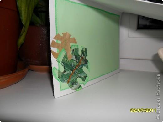 Проблема, оказывается, у нас купить салфетки для декупажа.... Из того, что нашла руки чесались, что-то сделать. Результат - дуэт. фото 4