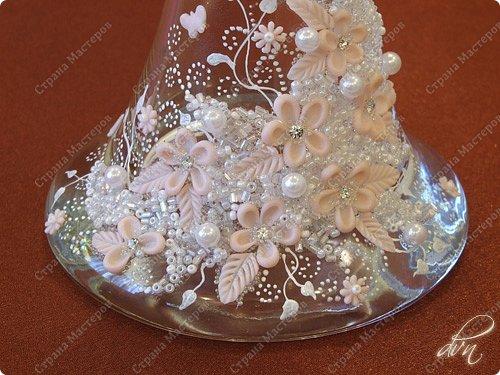 Vasil Dziashkouski hand made. Первая проба декорирования вазы. Высота 500 мм. фото 2