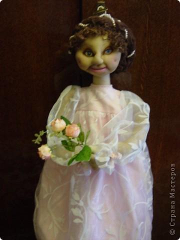 Это Нонна, кукла-пакетница для детской.   фото 12