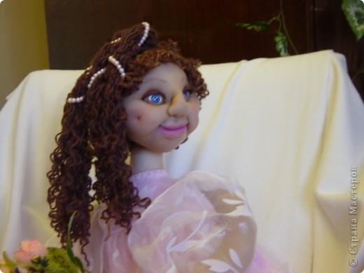 Это Нонна, кукла-пакетница для детской.   фото 14