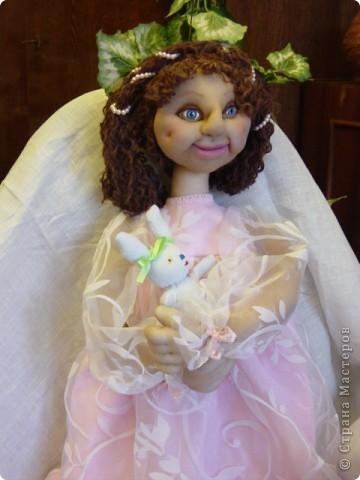 Это Нонна, кукла-пакетница для детской.   фото 15