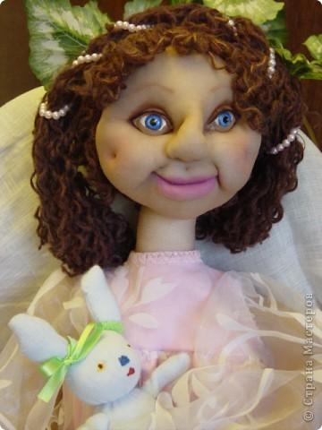 Это Нонна, кукла-пакетница для детской.   фото 16