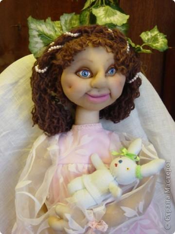 Это Нонна, кукла-пакетница для детской.   фото 1