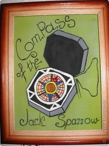 компас капитана Джека Воробья