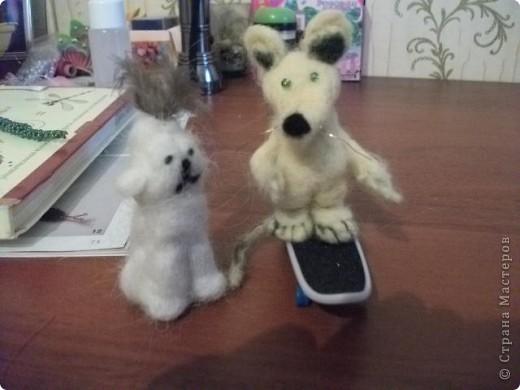 Большой Крыс и маленькая Собачка