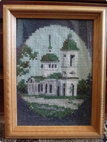 вышивка крестом церкви фото 2