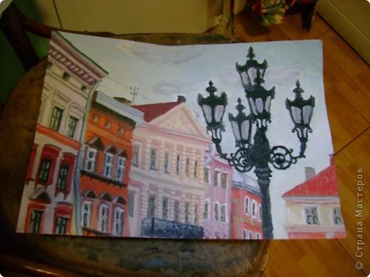 Конкурсна робота на Україно-канадку. Малювала в сьомому класі. фото 1