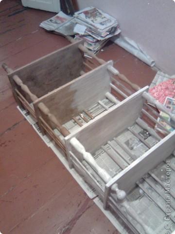 Были старые этажерка и стульчики , а стали... фото 4