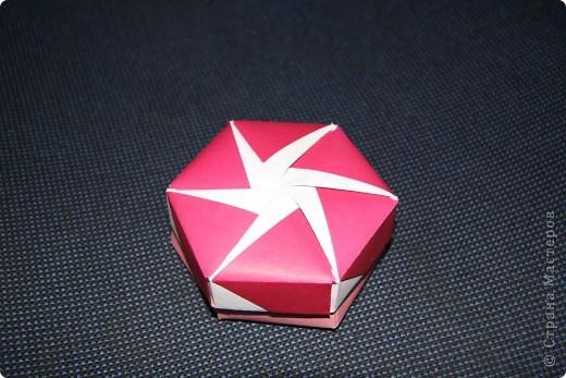 Коробочки оригами фото 5