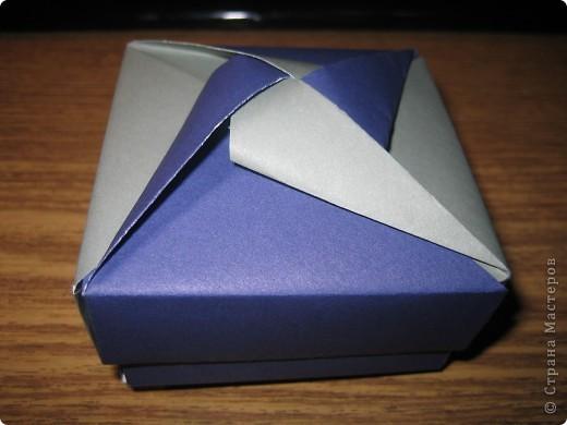 Коробочки оригами фото 3