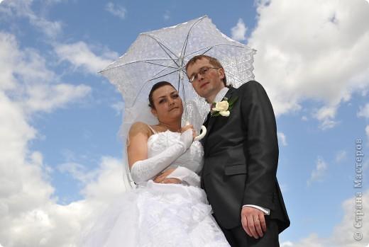 зонт не новый делала его пару лет назад для работы) сейчас делаю 2 новых))) фото 9