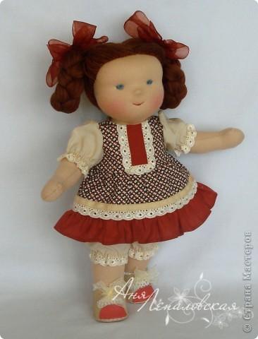 Калинка первая куколка сшитая из импортных материалов))) фото 2