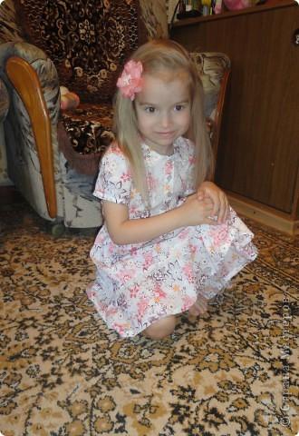 Летнее нежное платье фото 1