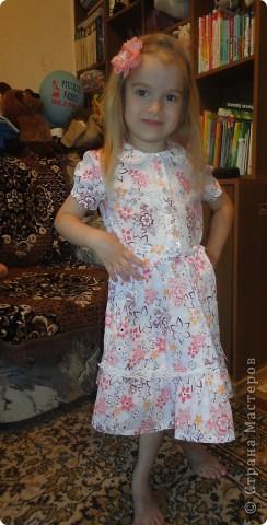 Летнее нежное платье фото 2