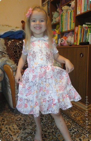 Летнее нежное платье фото 3