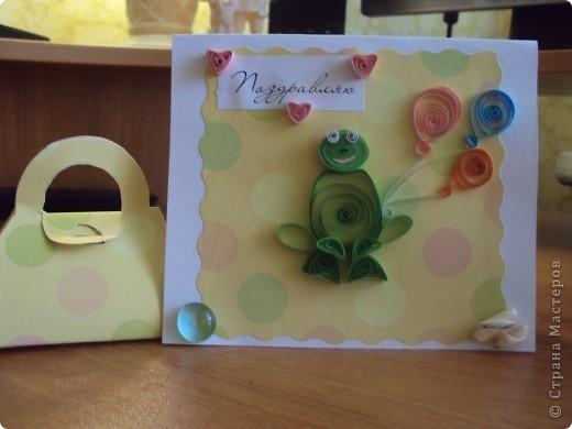 """Моя первая поздравителная открытка """"Нежный букет"""" фото 4"""