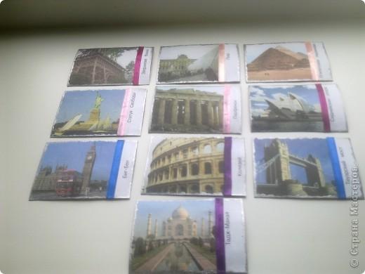 Серия состоит из 10 карточек  края карточки обработаны под серебро... фото 1