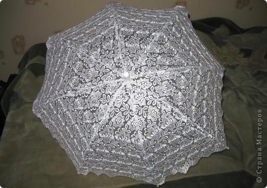 зонт не новый делала его пару лет назад для работы) сейчас делаю 2 новых))) фото 3