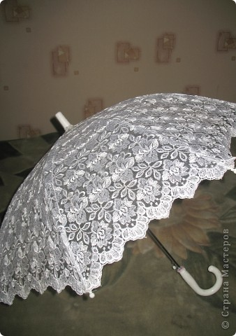 зонт не новый делала его пару лет назад для работы) сейчас делаю 2 новых))) фото 5