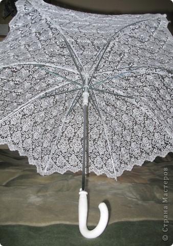 зонт не новый делала его пару лет назад для работы) сейчас делаю 2 новых))) фото 6
