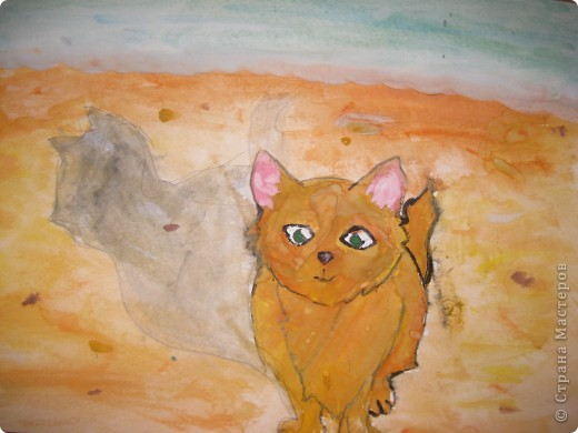 """Котенок на море"" фото 1"