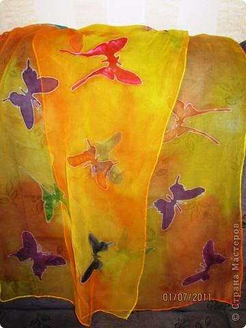 Летний платок
