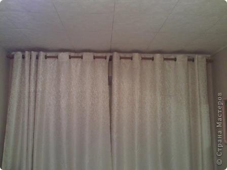 Мастер-класс Шитьё шторы на люверсах мастер-класс Ткань фото 12