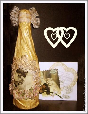 Мой свадебный  наборчик №2, захотелось сделать что-то уже немножко в другом, винтажном стиле.