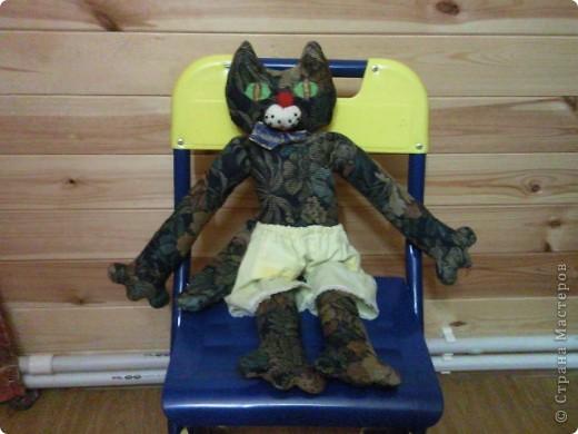Кошка-тильда в шортах. Новая любимица моей дочи))) фото 1