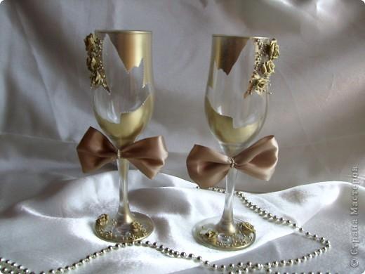 Свадебные бокалы 2 фото 1