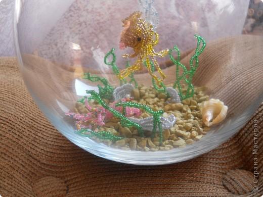 аквариум из бисера фото 2